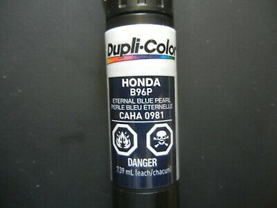 Duplicolor B96P Honda Eternal Blue Pearl CAHA0981 Scratch Fix All-in-1 Touch Up