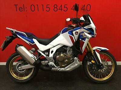 2020 HONDA CRF1100 AFRICA TWIN ADVENTURE SPORT  ONLY 213 MILES