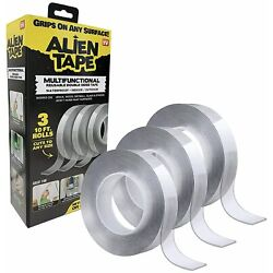 Kyпить Alien Tape Instantly Locks Anything into Place Without Screws, Anchors, Adhesive на еВаy.соm