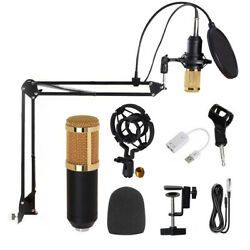 Kyпить BM800 Pro Condenser Microphone Kit Studio Audio Recording Arm Stand Shock Mount на еВаy.соm
