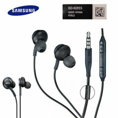 Samsung Earphones Headphones AKG ORIGINAL Galaxy s8 s9 s10s10Plus Note 8 & mic.