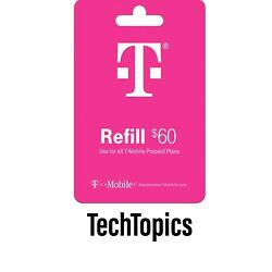 Kyпить T-Mobile Prepaid $60 Refill Card (Direct) на еВаy.соm