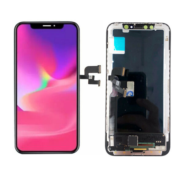 DISPLAY SCHERMO PER APPLE IPHONE X OLED TOUCH SCREEN FRAME LCD ORIGINALE TIANMA