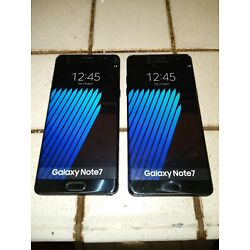 2 Official Dummy Phone Non working Display Model Samsung Galaxy Note 7 Rare