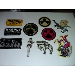 MAGPUL  Made in USA Parts & Accessories Vinyl Decal Stickers