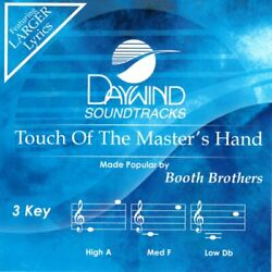 Touch Of The Master's Hand - The Booth Brothers - Accompaniment Track