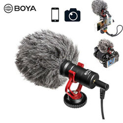 Kyпить BOYA BY-MM1 Video Record Microphone for Canon DSLR Camera Smartphone Youtube на еВаy.соm