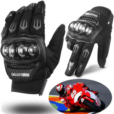 2020 Touch Screen Motorcycle Full Finger Gloves Motorbike Racing Moto Driving US