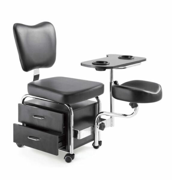 Royaume-UniUrbanity  Pédicure Ongle Station Beauté Chaise Table Spa Tiroirs Bl