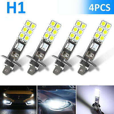 4X H1 6000K Super White 80W LED Headlight Bulbs Kit Fog Driving Light DRL Lamp