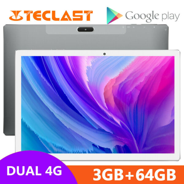 Stains,FranceTeclast M30 3GO+64GO 10.1''  Tactile Android8.0 Tablet SIM 4G Deca Core