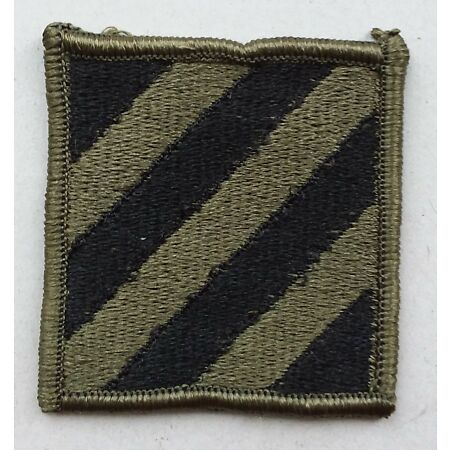 img-US ARMY PATCH 3rd Infantry Division BDU Battle Uniform Badge United States USA