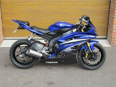 2007/07 Yamaha YZF-R6 with 16,800m in Blue