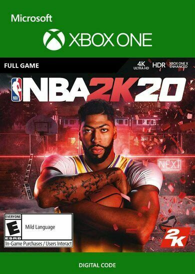 NBA 2K20 Europe Region Digital Download (Xbox One)