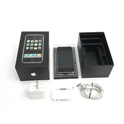 Kyпить Apple iPhone 1st Generation - 8GB - Black (AT&T) A1203 (GSM) Non Matching Box на еВаy.соm