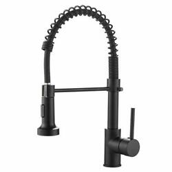 Kyпить Poiqihy Kitchen Faucet with Pull Down Sprayer Single Handle Brushed Nickel Mixer на еВаy.соm