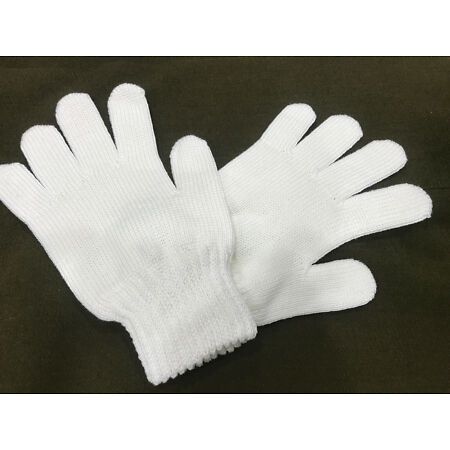 img-Brand New (Pack of 2 pairs) Gloves Cream Knitted Size 2 + 3  #2762