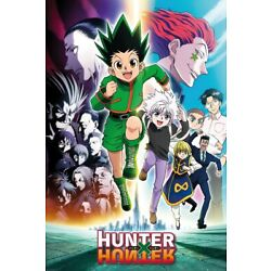 Kyпить HUNTER X HUNTER - MANGA / ANIME TV SHOW POSTER (KEY ART / RUNNING) на еВаy.соm