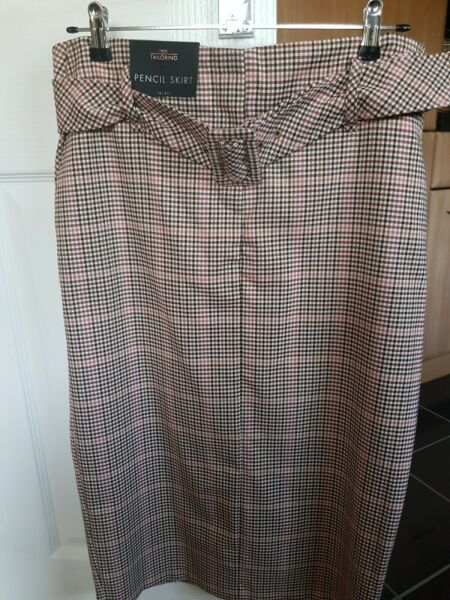 Next Tailoring Ladies Pencil Skirt Size 14 NEW WITH TAGS