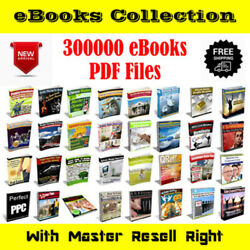Kyпить 300000+ eBooks Package Collection | Pdf Format | With Master Resell Rights на еВаy.соm