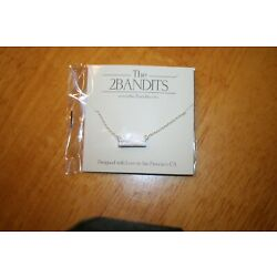 The2Bandits Antique Silver Iridescent Athens 18'' Necklace/Fit Fab Fun-New
