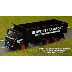 B-T Models DA-84 Albion Reiver Tipper Glover Transport 1/76th Scale Boxed T48Pos