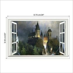 New Vivid Wall Stickers Harry Potter 3D Popular Sticker for Room Decoration PVC