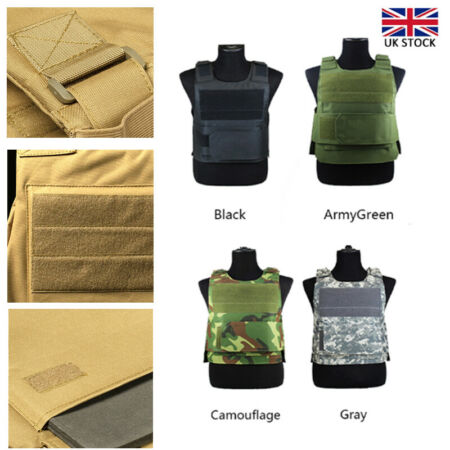 img-Anti-Stab Knife Proof Tactical Vest Protect Body Armour Defence Security Guard