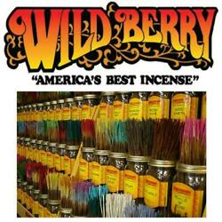 WILDBERRY INCENSE 11  STICKS 95 SCENTS  20 PER PACK! BUY 2 GET 1 FREE