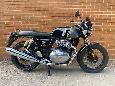2019 ROYAL ENFIELD CONTINENTAL GT 650CC PRE REG WITH EXTRAS (DELIVERY AVAILABLE)