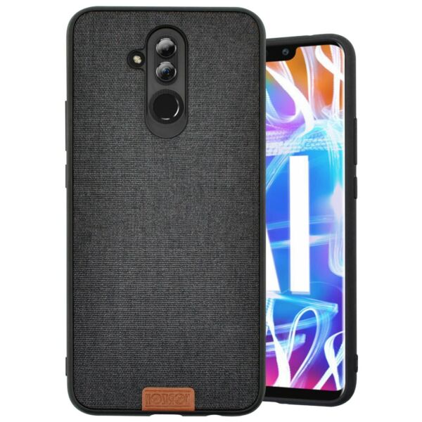 ItalieCOVER CASE  Épaisse pour Huawei MATE 20 lite frame Shock frosted Noir