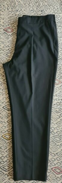 Womens Next Tailoring Black Trousers Size 18 L