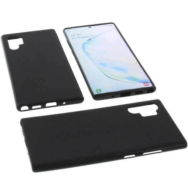 AllemagneCover for Samsung  Note 10 Plus Case Protector Cell Phone TPU Black