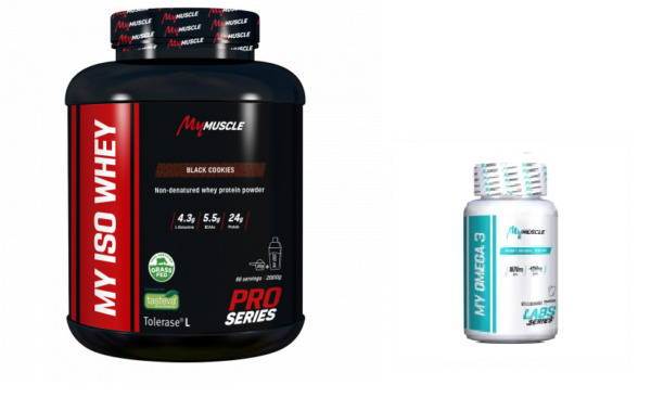 Juvisy sur Orge,FranceMY ISO WHEY MYMUSCLE 2KG + MY OMEGA3 90 GELLULES