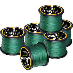 Kyпить 10-100LB Braided Fishing Line 4/8 STRANDS Super Strong Saltwater Fishing Line US на еВаy.соm