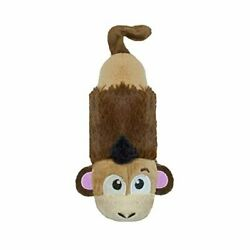 Petstages Just For Fun No Stuffing Plush LiL Squeak Monkey Dog Toy for Small Dog