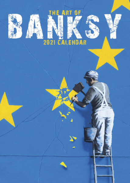 Royaume-UniBanksy 2021 A3 Affiche Calendrier 15% OFF Multi s