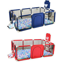 Kyпить Foldable Baby Playpen Kids Safety Fence Activity Play Center Play Yard Play Pen на еВаy.соm
