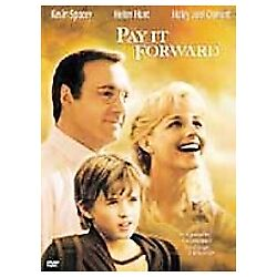Pay It Forward (DVD, 2001) NEW - BUY 2 DVDs GET 1 FREE* #A1