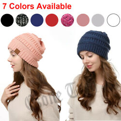 Kyпить Knit Baggy Beanie Hat Women Men Oversize Winter Ski Fleece Slouchy Skull Cap US на еВаy.соm