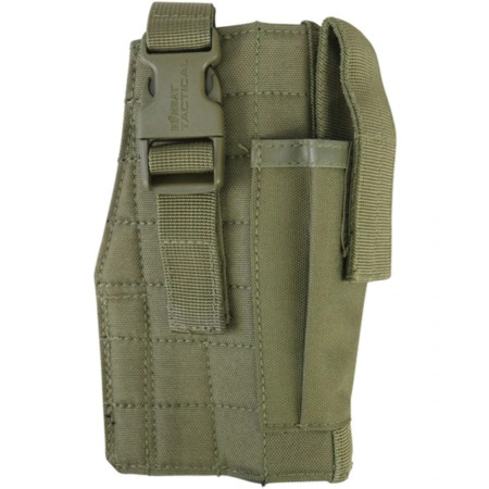 img-Kombat UK Molle Gun Holster with Mag Pouch - Coyote Military Army Style