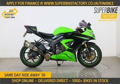 2013 13 KAWASAKI ZX-6R ALL TYPES OF CREDIT ACCEPTED