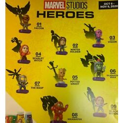 2020 McDONALD'S Marvel Studios Heroes HAPPY MEAL TOYS Choose Toy or Set