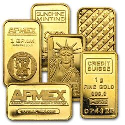 Kyпить 1 gram Gold Bar - Secondary Market на еВаy.соm