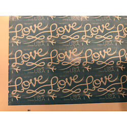 Kyпить 100 - USPS Love Skywriting Forever Stamps. Sheets of 20 Free Shipping на еВаy.соm