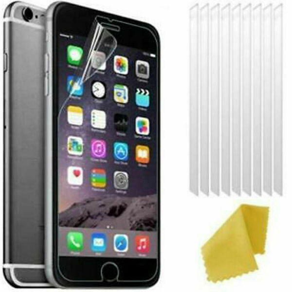 Royaume-UniÉcran Protection Pour Apple Iphone 5S 5 Se 100% Neuf Plastique Transparent