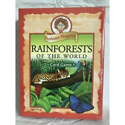 Professor Noggin's Rainforests Of The World Educational Card Game #32 NEW