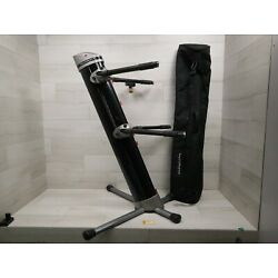 Kyпить Ultimate Support AX-90 Heavy Duty Tiered Portable Keyboard Stand w/ Bag на еВаy.соm
