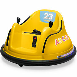 Kyпить Kidzone 9 Colors 12V Kids Electric Ride On Bumper Car 360 Spin, ASTM-Certified на еВаy.соm