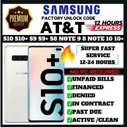 Kyпить AT&T Premium Unlock Code Service For AT&T Samsung Galaxy NOTE 9 S10 S9 NOTE 8 на еВаy.соm